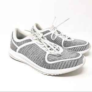 Adidas Grey and White Bounce Runners US 7.5